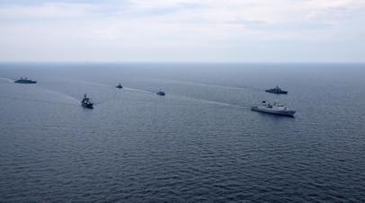 ВМС Украины и корабли НАТО провели совместную тренировку в Чёрном море