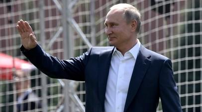 Путин вручит госнаграды и грамоты футболистам и тренерам сборной России по футболу 28 июля