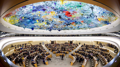Заседание Совета по правам человека ООН © Fabrice COFFRINI