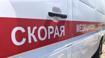 При опрокидывании автобуса в Московской области пострадали по меньшей мере 12 человек