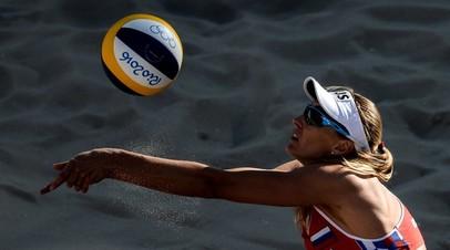 Россиянки Макрогузова и Холомина стали победительницами молодёжного ЧЕ по пляжному волейболу