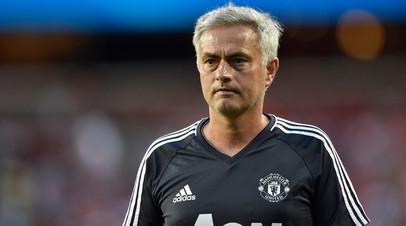 Моуринью призвал футболистов «Манчестер Юнайтед» сократить отпуск