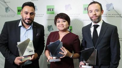 Лауреаты международной премии Khaled Alkhateb Memorial Awards © Виталий Белоусов
