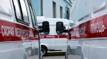 При столкновении двух легковых автомобилей в Ростовской области пострадали шесть человек