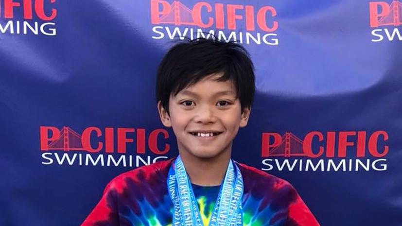 Супермен в мире спорта: как 10-летнему пловцу удалось побить рекорд Майкла Фелпса