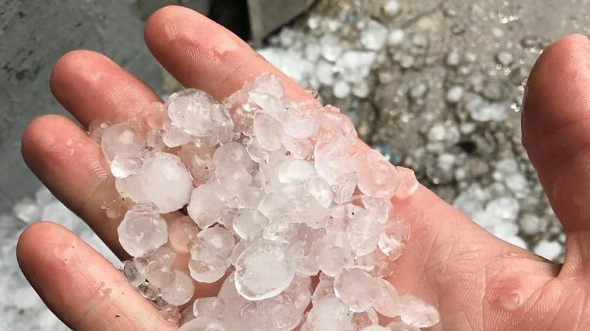 В МЧС предупредили о граде и штормовом ветре в Адыгее