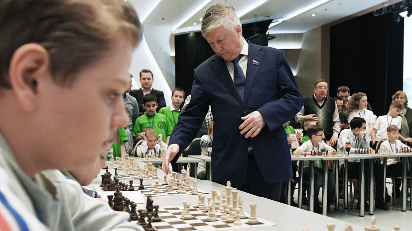 Анатолий Карпов посетил шахматный фестиваль в Екатеринбурге