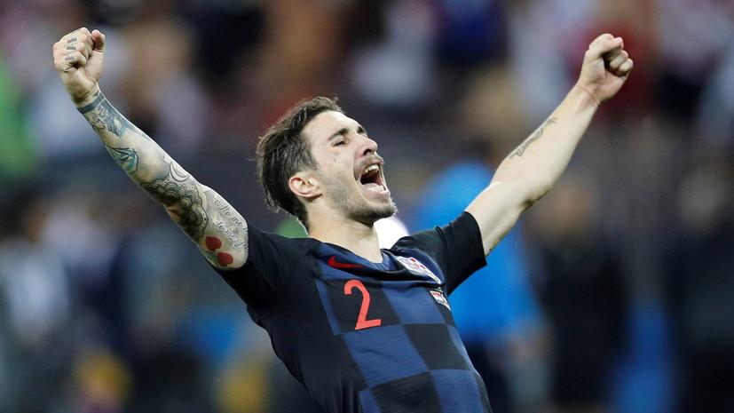 «Интер» арендовал у «Атлетико» футболиста сборной Хорватии