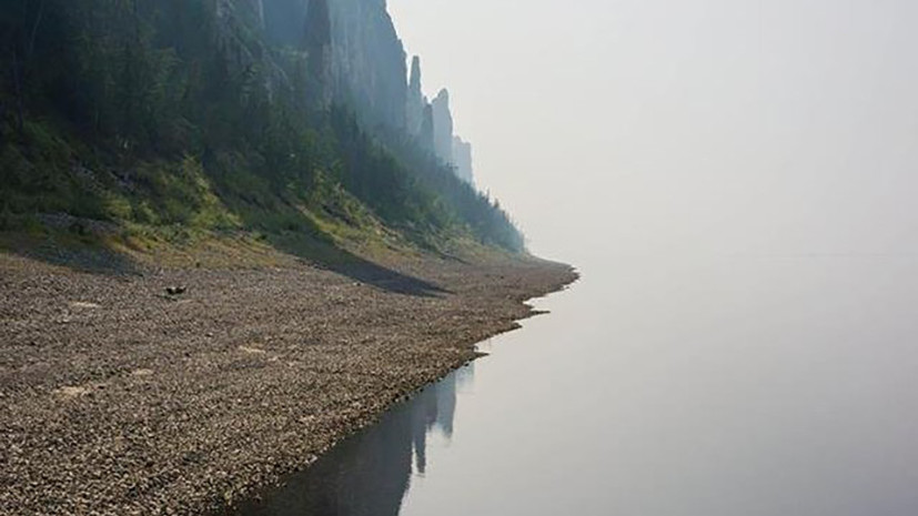 В Минприроды Якутии прокомментировали сообщения об окрашивании водоёма в бирюзовый цвет