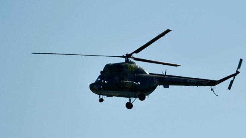 Источник сообщил о падении вертолёта Ми-2 на Кубани