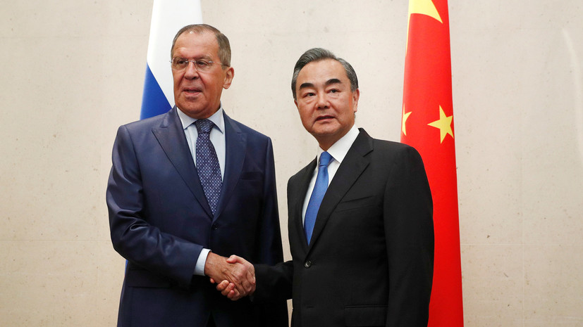 Лавров провел встречи сглавами МИД Китая иФилиппин