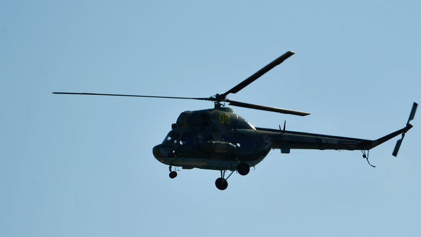 Прокуратура начала проверку по факту крушения вертолёта на Кубани