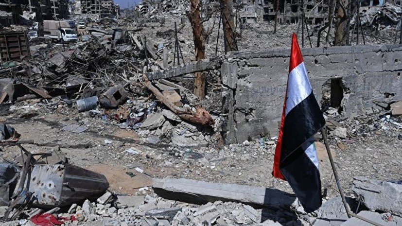 В Генштабе России рассказали о скрывающихся в лагере для беженцев в Сирии террористах