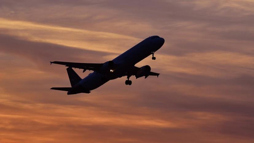 Неизвестное воздушное судно опасно сблизилось с российским самолётом над Чёрным морем