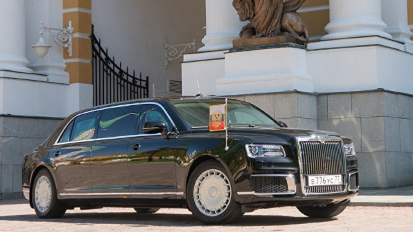 Мантуров: Автомобили Aurus проекта «Кортеж» представят летом