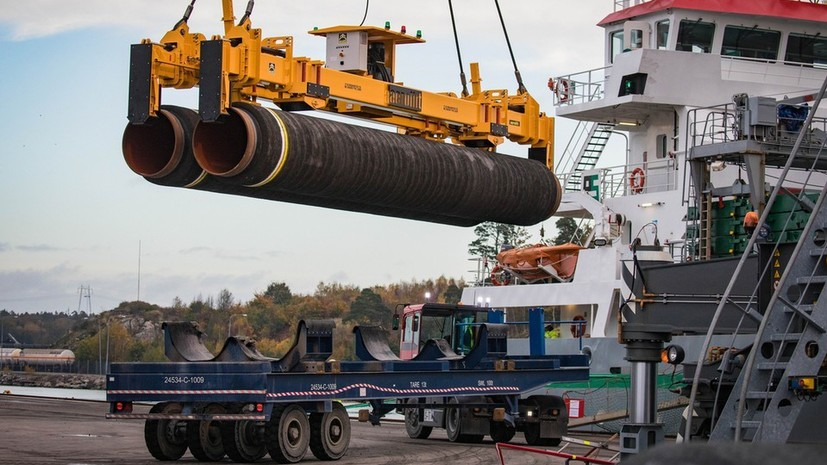 Nord Stream 2 AG разработала маршрут «Северного потока — 2» в обход Дании