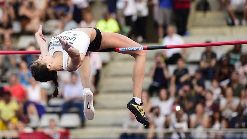 Ласицкене возглавила новый рейтинг IAAF