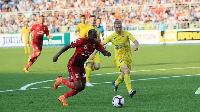 В компанию к «Зениту»: «Уфа» вышла в следующий раунд Лиги Европы, отыгравшись за три минуты до финального свистка