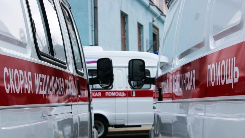 Под Воронежем в результате лобового столкновения двух автомобилей погибли три человека
