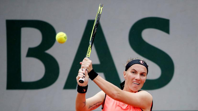 Кузнецова обыграла Богдан во втором круге турнира WTA в Вашингтоне