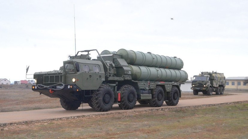 Под Саратовом подняты потревоге ракетные системы С-400 «Триумф»