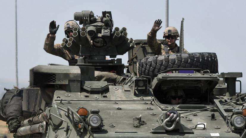 Миссия НАТО в Косове проводит учения