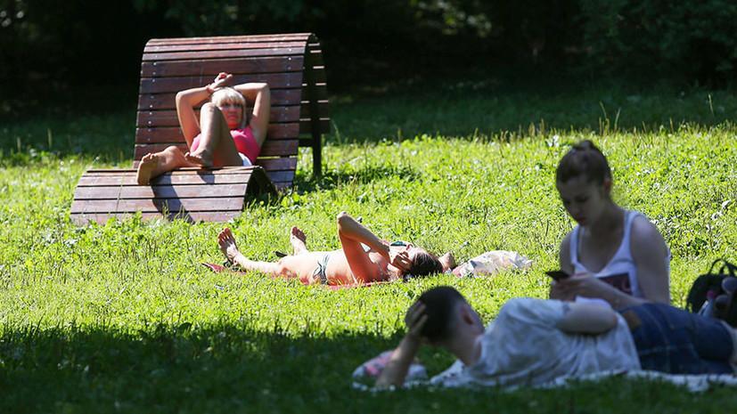 Комфортная жара: какая погода ожидает жителей европейской части России в выходные