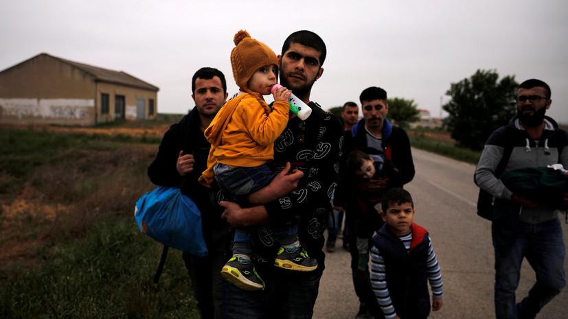 Минобороны: почти миллион беженцев вернутся в Сирию в ближайшие месяцы