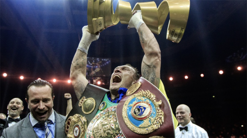 Чемпион мира по боксу Усик написал стихотворение об Украине
