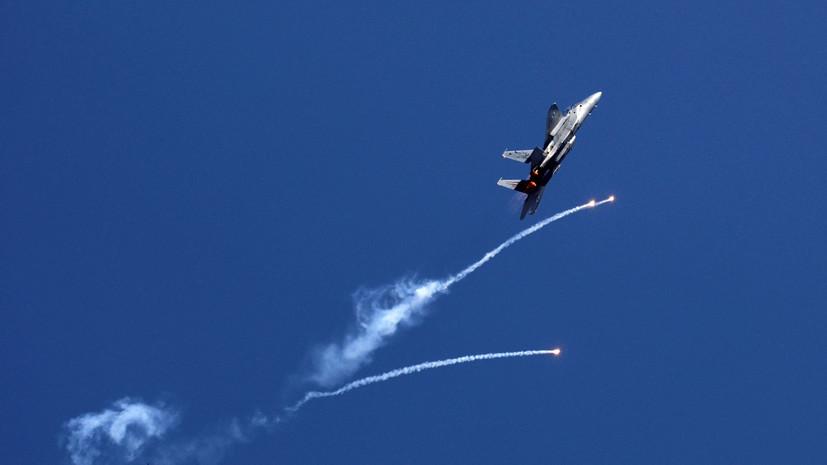 Израильские ВВС нанесли удар по территории сектора Газа