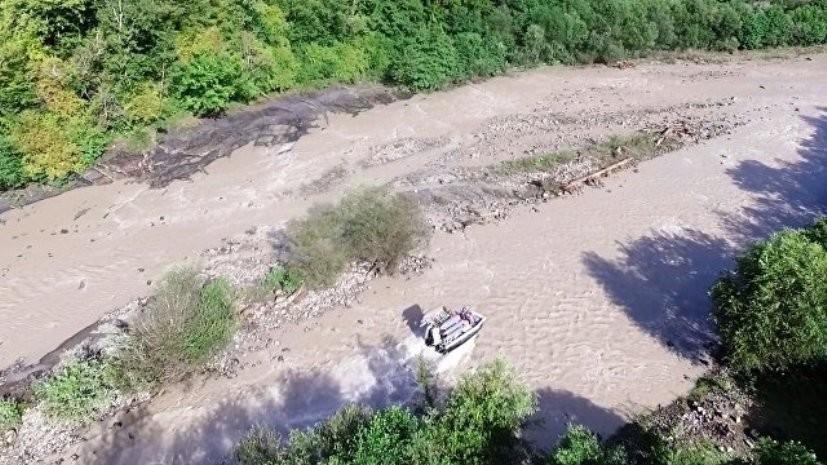 С помощью двух беспилотников ищут девочку, которую унесло течением в Сочи