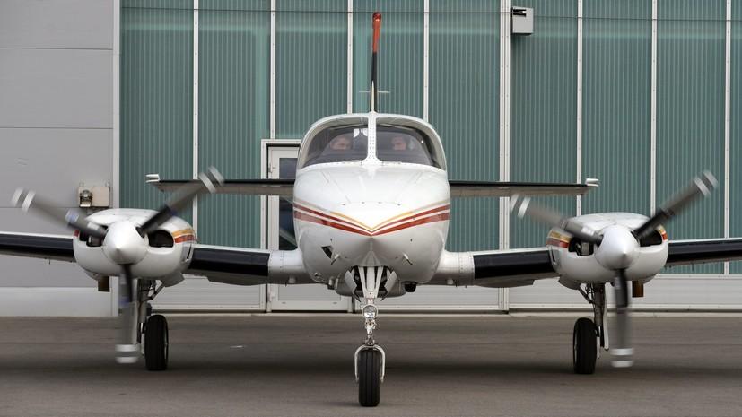 В Швейцарии потерпел крушение легкомоторный самолёт