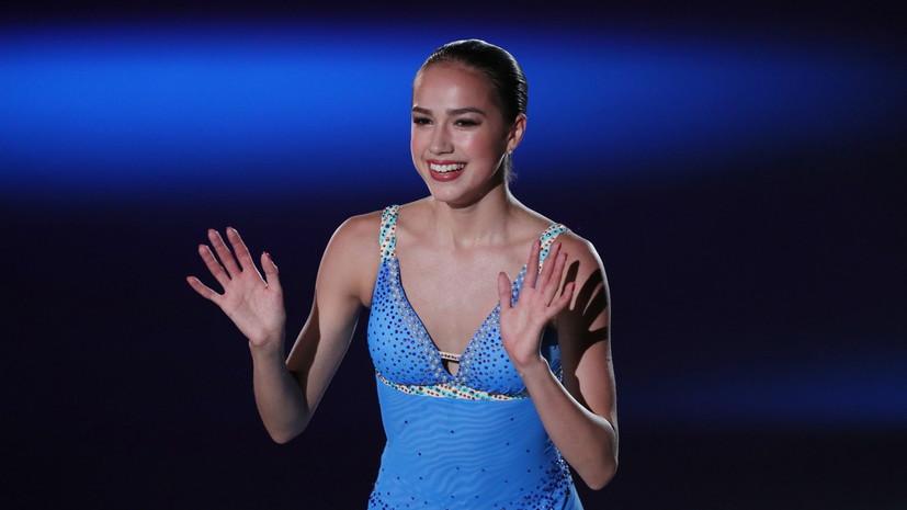 Олимпийская чемпионка Загитова продемонстрировала новую короткую программу