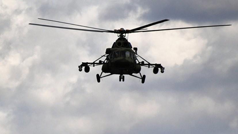 Врио губернатора Красноярского края прибыл на место крушения вертолёта Ми-8