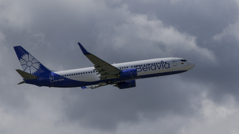 В аэропорту Бургаса повредили самолёт белорусской авиакомпании