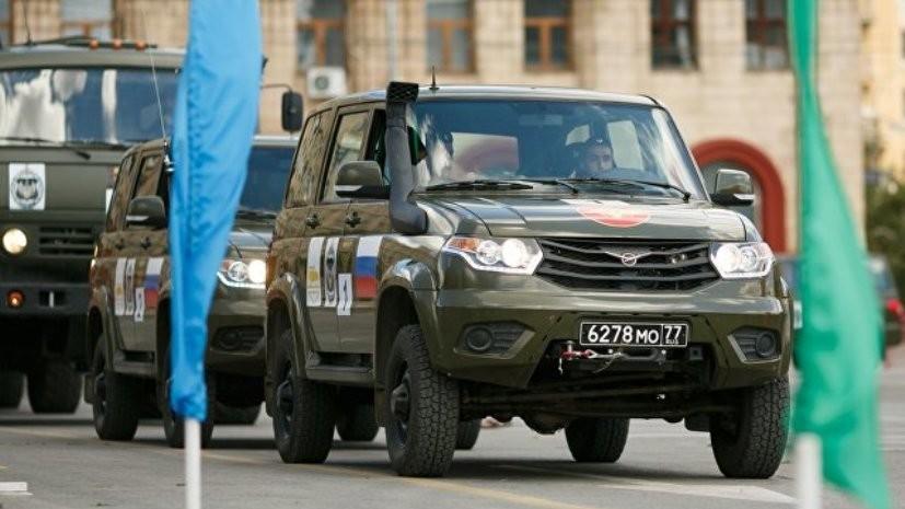 Россия победила в «Военном ралли» Армейских международных игр — 2018