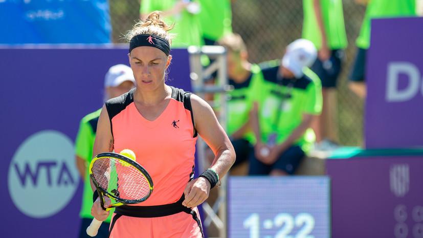 Кузнецова обыграла Путинцеву и вышла в полуфинал турнира WTA в Вашингтоне