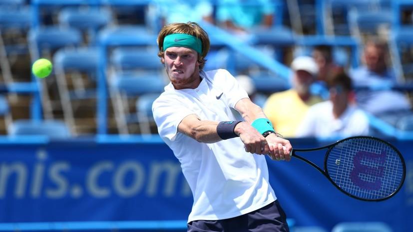 Рублёв проиграл де Минору в полуфинале турнира ATP в Вашингтоне
