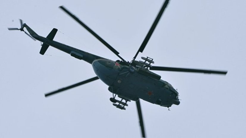При правительстве Красноярского края создан оперативный штаб после крушения Ми-8