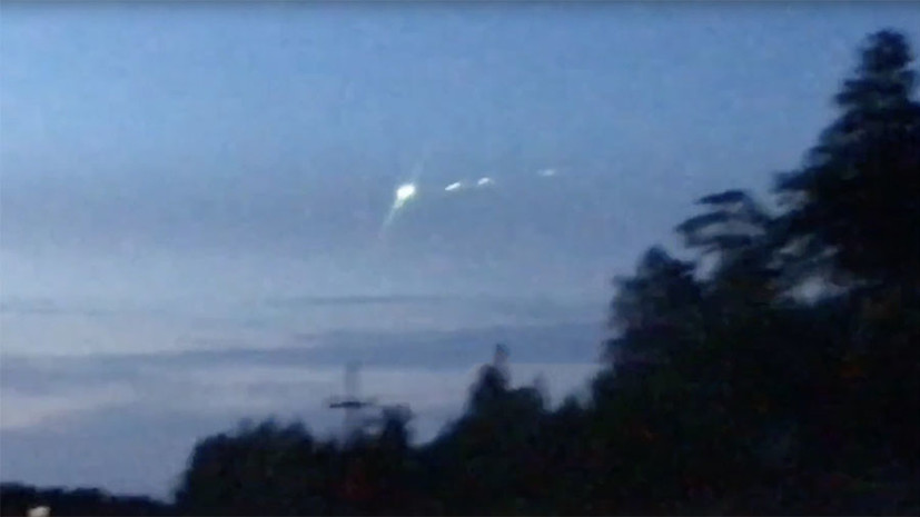 СМИ сообщили о замеченном в небе над ХМАО метеорите