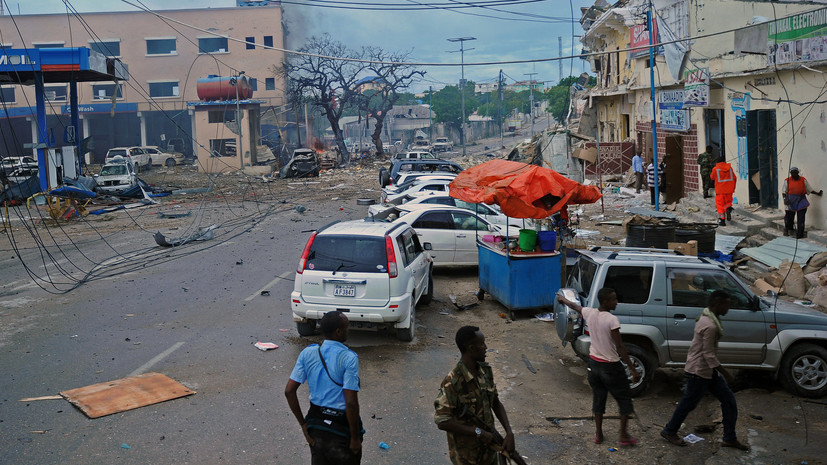 Взрыв произошёл вблизи военной базы в Сомали