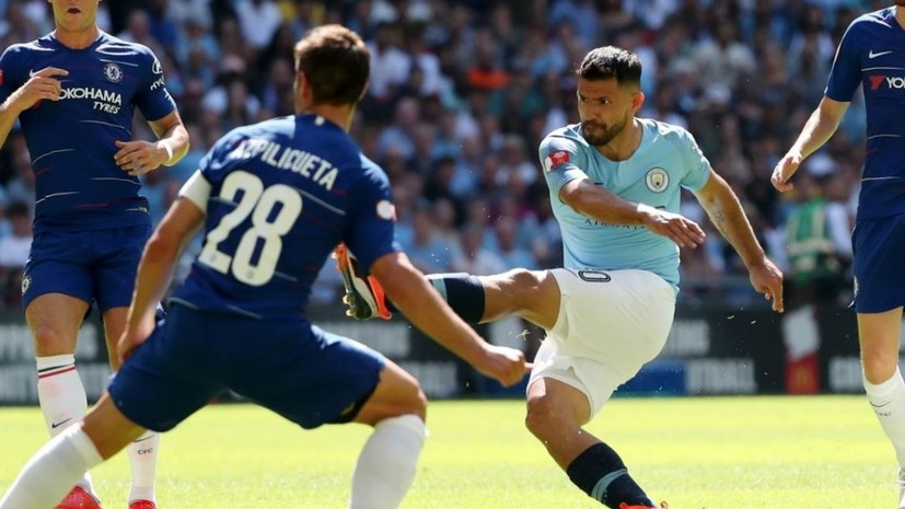 «Манчестер Сити» обыграл «Челси» в матче за Суперкубок Англии по футболу