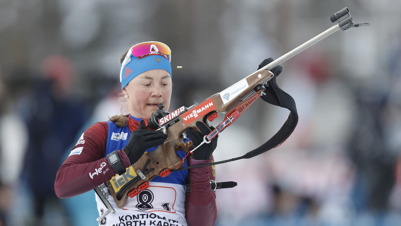 Юрлова-Перхт вошла в состав сборной России на ЧМ по летнему биатлону в Чехии