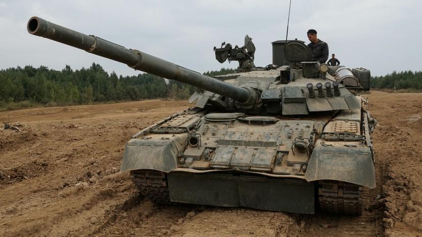 В Челябинской области военные провели учения с одновременным участием 200 танков