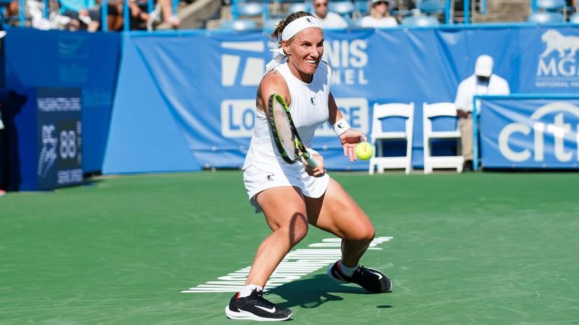 Кузнецова поделилась впечатлениями от победы на турнире WTA в Вашингтоне