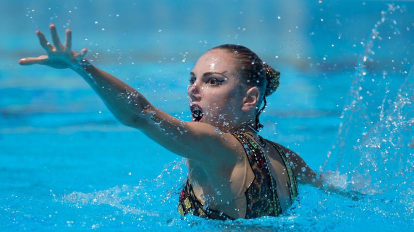 Колесниченко заявила, что состояние воды, в которой соревнуются синхронистки на ЧЕ, улучшилось