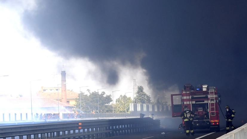 Число пострадавших в результате взрыва в Болонье превысило 60
