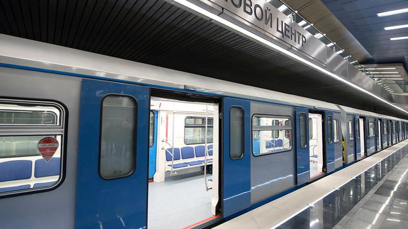 Построить все станции БКЛ в Москве планируют в течение ближайших пяти лет