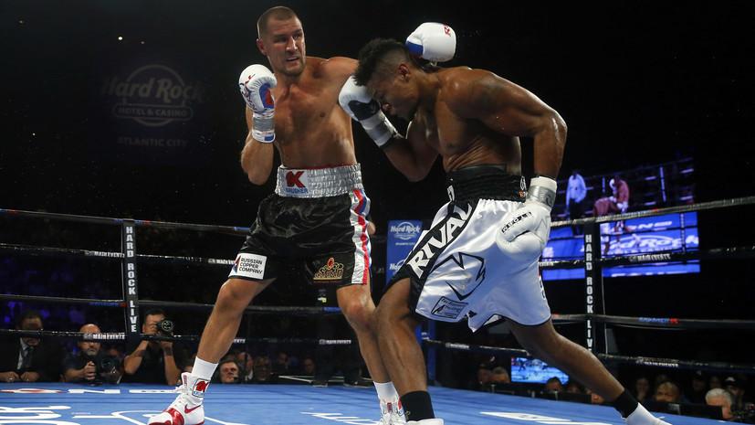 Ковалёв заявил, что не намерен завершать боксёрскую карьеру