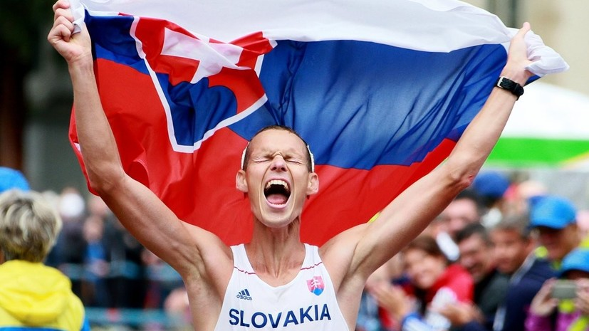Словацкий ходок: российские легкоатлеты должны выступать под национальным флагом